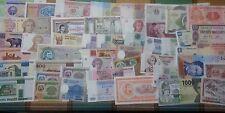 LOTE DE 100 BILLETES MUNDIALES VARIADOS