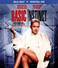 New! BASIC INSTINCT (Blu-ray) Michael Douglas Sharon Stone 90's Erotic Thriller