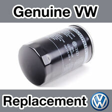 Genuine Volkswagen GOLF MKVI (1K) 1.6 (09 -) Filtro de aceite