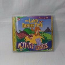 The Land Before Time PC CD ROM Activity Center Children's Learning Ages 4-8