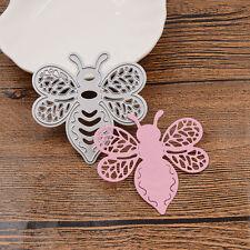 Bee Metal Cutting Dies Stencil For DIY Scrapbooking Embossing Paper Card Craft