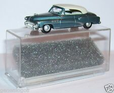 MICRO PRALINE HO 1/87 BUICK 50 CABRIOLET FERME BLEU CLAIR METAL IN BOX