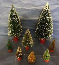 Vintage Bristle Brush Christmas Trees