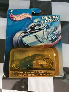 SHOKBLADE MOTO LAW ENFORCERS Thunder Cycles By Hotwheels RARE