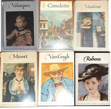Lot of 6 Fontana Pocket Library of Great Art - Manet, VanGogh, Matisse, Rubens