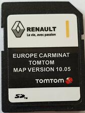Carte SD GPS Europe 2018 - 10.05 - Renault TomTom Carminat