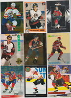 (100) card Rob Niedermayer mixed lot, Mostly rookies, Florida Panthers star