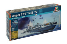 ITALERI 1/35 MILITARY MTB VOSPER motor torpedo boat model kit