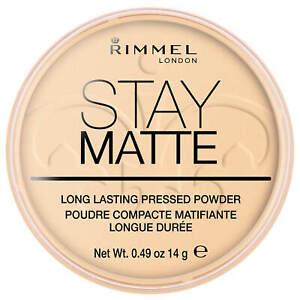RIMMEL STAY MATTE LONG LASTING PRESSED POWDER **040 HONEY**