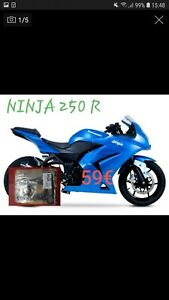 Kawasaki 250R Ninja Juego de Juntas ATHENA