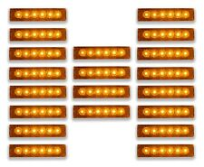 20 Stück 24V LED orange Seite Marker Positionslichter Ford Scania Volvo Iveco