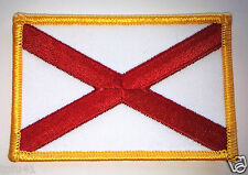 ***ALABAMA STATE FLAG*** Biker Patch PM6801 EE