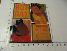 Childrens book- HOT DAY ON ABBOTT AVENUE, karen english, ill Javaka Steptoe