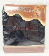 ANNIE PILLOW SATIN ROLLERS SOFT SPONGE LARGE ROLLERS NO PINS OR CLIPS NEEDED1246
