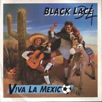 """BLACK LACE viva la mexico 7"""" PS EX/VG uk LACE 4 wos"""