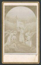 Estampa antigua Fotografica San Ignacio de Loyola andachtsbild santino holy card