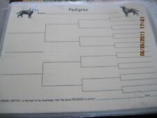 Labrador Body Blank Pedigree Sheets Pack 10