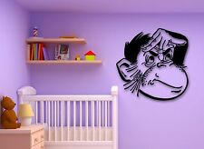 Wall Stickers Vinyl Decal Monkey Animal for Kids Baby Room Nursery (ig814)