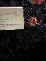 Grolier Christmas Lady Disney Magic 26231 129 Ornament See Pictures ♾