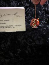 Grolier Christmas Lady Disney Magic 26231 129 Ornament See Pictures â™¾