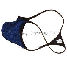 Shiny Men Micro G-string Thongs Bulge Pouch Underwear Guys Mini Bikini T-back XL