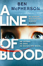 A Line of Blood, By McPherson, Ben,in Used but Acceptable condition