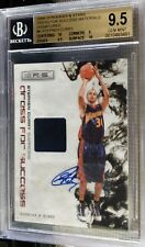 2009-10 Rookies and Stars Stephen Curry Auto Patch #23/25 BGS 9.5 Gem Mint