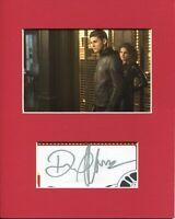 David Mazouz Gotham Bruce Wayne Batman Rare Signed Autograph Photo Display
