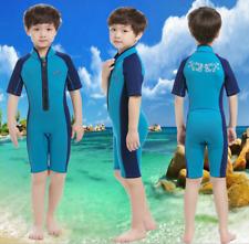 Kids Children 2MM Neoprene Diving Suit Boys Girls Swim Scuba Surf short Wetsuits