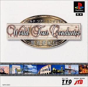 World Tour Conductor Jeu Sony Playstation 1 Occasion Version NTSC-J (Japon)