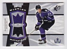 2006-07 NHL SPx Winning Materials Spectrum # WM-AF Alexander Frolov SP # /99
