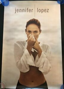 JENNIFER LOPEZ ON THE 6 ORIGINAL PROMO POSTER NEVER HUNG 24X36 DIDDY PUFF DADDY