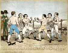 041 Boxing 1788 vintage Photo Print A4