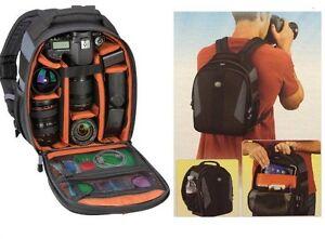 """Tamrac Jazz 84 DSLR Camera Travel Pack Bag Backpack Holds 10"""" Tablet"""