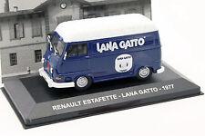 Renault Estafette Lana Gatto année 1977 bleu / blanc 1:43 Altaya