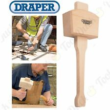 LARGE Solid Wood Mallet Beechwood Carpentry/Woodwork Hammer For Chisels/Carving