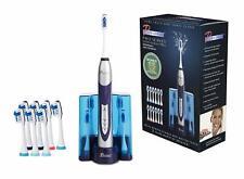 Pursonic Ultra Alta Potencia Sonic Cepillo de dientes eléctrico con base y 12 cabezas de cepillo