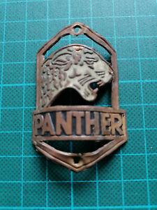 altes dekoratives Fahrrad-Emblem PANTHER, tolle Darstellung