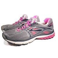 Brooks Ravenna 5 Womens Running Sneakers Athletic Shoes Size 9.5 Gray Pink Blue