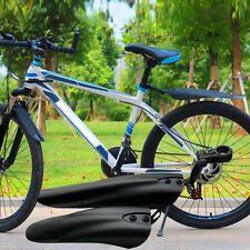 Mountain Bike Bicycle Mystery Black Front &Rear Mudguard Fender Set Mud Guard