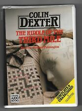 The Riddle of the Third Mile - Colin Dexter-Unabridged Audio book on 6 Cassettes