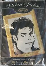 Michael Jackson Funeral Program this Was For FAMILY and Friends ONLY