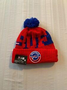 Buffalo Bills NFL New Era Knit Winter Ski Cap Hat Beanie Brand New