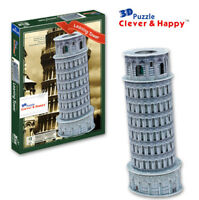 Leaning Tower of Pisa 3D Puzzle Jigsaw Model Italy Freestanding Bell Tower Gift