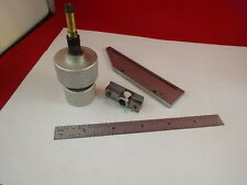 FOR PARTS MICROSCOPE PIECES LEITZ GERMANY XY MICROMETER KNOBS AS IS #R6-B-55
