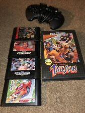 Disney's TaleSpin (Sega Genesis, 1992) And 4 Other Games With Controller.