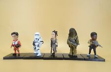 lot of 5 Star Wars pvc Figure 8cm