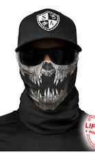 SA DECAY SKULL Face Sun Mask Balaclava Head band Beanie Bandana do rag skullcap
