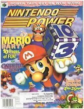 Original Nintendo Power Magazine #117 Mario Party, Castlevania 2, WCW w/Poster