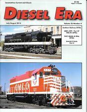 Diesel Era Luly 2014 Southern Railway GP30 Gulf Mobile & Ohio Amtrak EMD GP9B